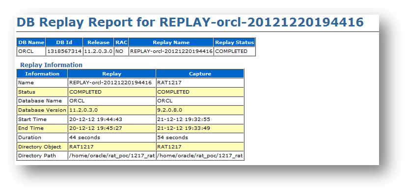 db replay5