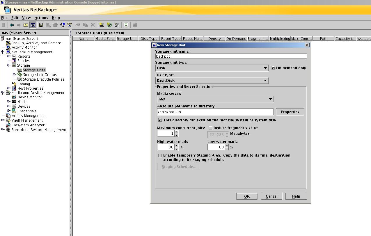 netbackup 6.5 linux client