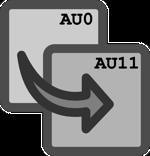 AU0 and AU11 small