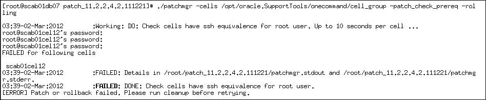 示例 – 无ssh设置