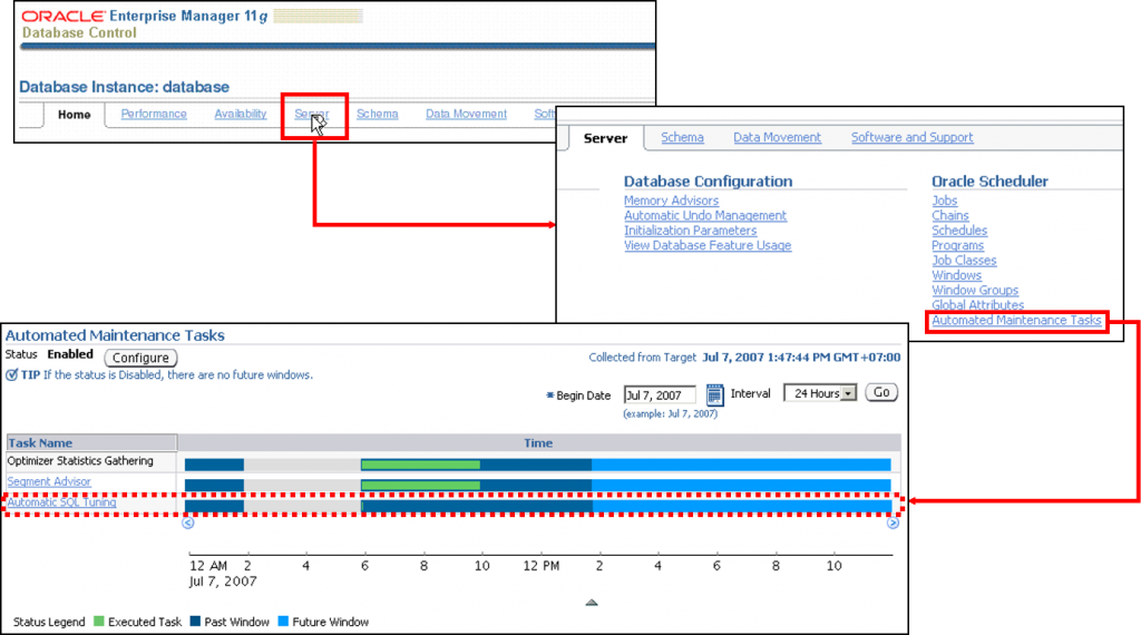 自动 SQL 优化任务