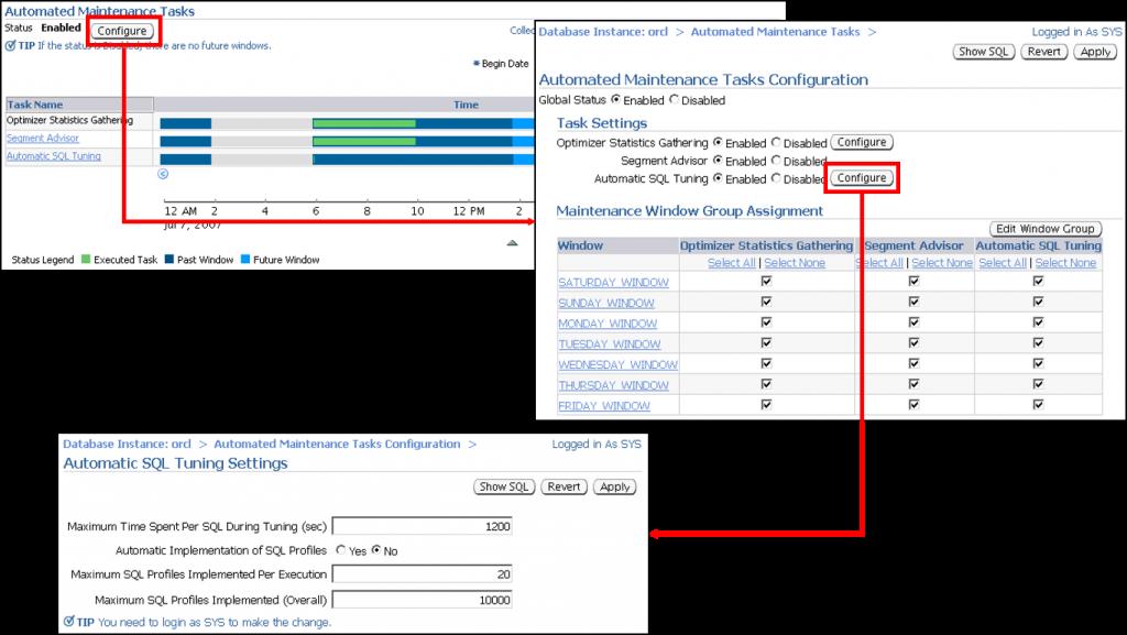 配置自动 SQL 优化