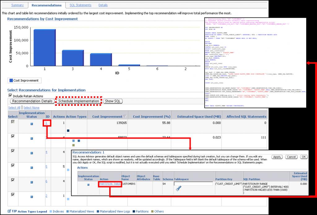 SQL 访问指导:结果和实施