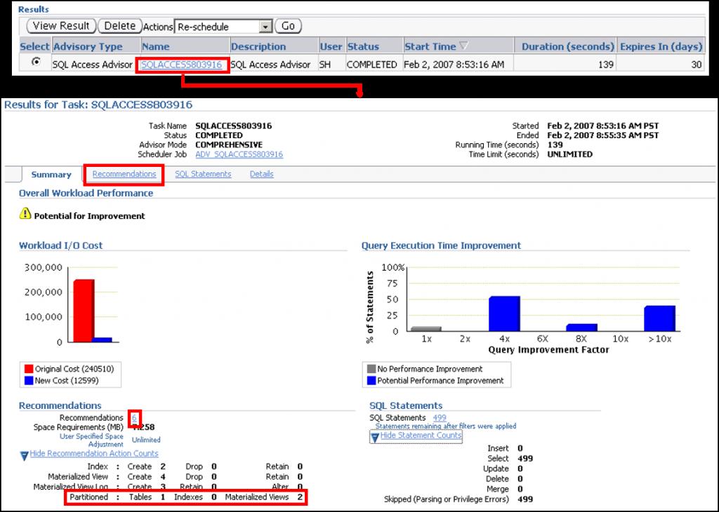 SQL 访问指导:结果
